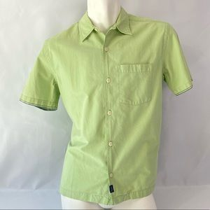 Abercrombie | Men's Green Short Sleeve Button Up S